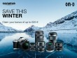 For a limited time only, Olympus presents bonus offers on selected OM-D cameras and M.Zuiko lenses